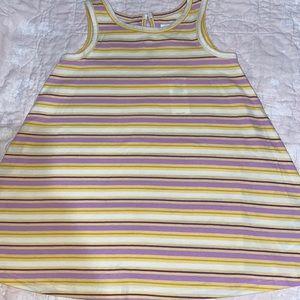 Gap Striped Swing Dress